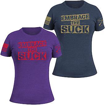 Grunt tyyli naiset ' s omaksua imaista T-paita