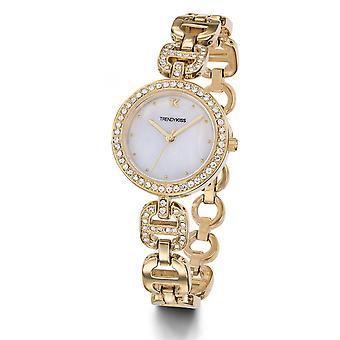 TMG10112-03 - watch Bracelet steel Dor rhinestone woman