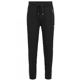 Hugo Boss Leisure Wear Hugo Boss Men's Black And White Jogging Bottoms
