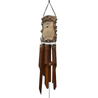 Tree Owl Bamboo Wind Chime