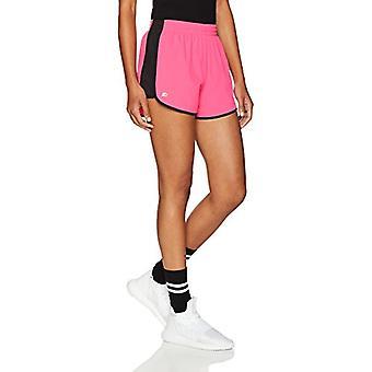 Starter Women's Stretch Running Short,  Exclusive, Power Pink/Black, La...