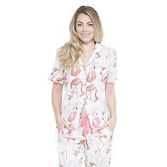 Grace blanc Motif pyjama Pyjama Top Cyberjammies 3653 féminin