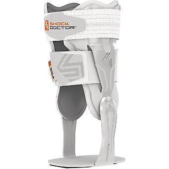 Shock Doctor V-Flex Advanced Hinged Ankle Brace - White