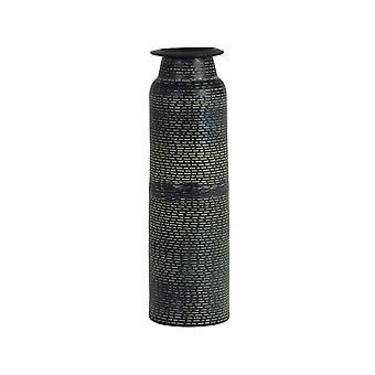 Light & Living Vase 9x32cm Orania Black-Antique Green