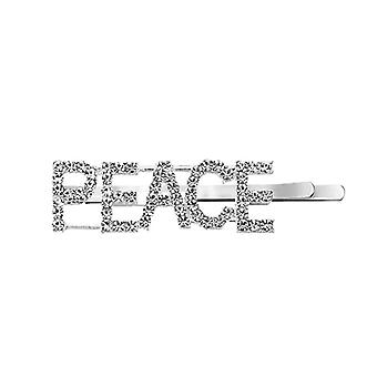 Hairpin with text - Peace
