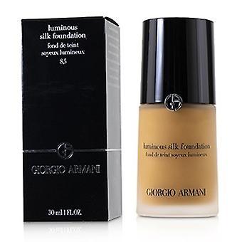 Giorgio Armani Luminous Silk Foundation - # 8.5 (bronzeado, quente) 30ml/1oz