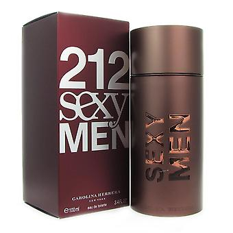 212 sexy men para hombre de carolina herrera 3.4 oz eau de toilette vaporizador