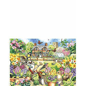 Falcon De Luxe Gardens wszystkich sezonów 4 x 1000 Kawałek Układanki