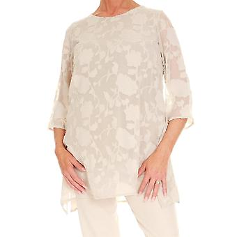 PERSONAL CHOICE Personal Choice Cream Tunic 123