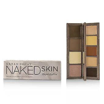 Naked Skin Shapeshifter Contour, Farve korrekt, Fremhæv Palet - # Medium Dark Shift -