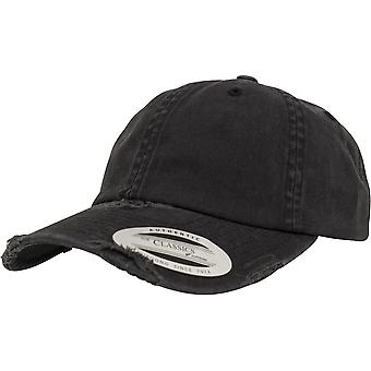 Flexfit by Yupoong Mens Low Profile Destroyed Baseball Cap