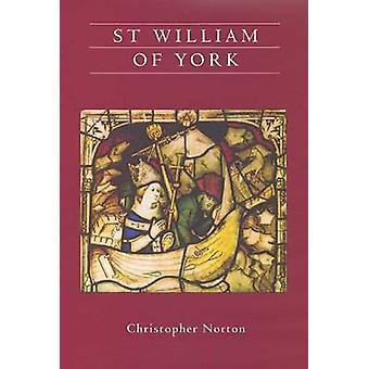 St William of York by Christopher Norton - 9781903153598 Book