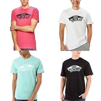Vans Mens Off The Wall Short Sleeve Crew Neck Casual Cotton T-Shirt Top Tee