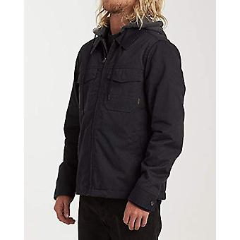 Billabong Men's Barlow Twill Jacket Grey Small