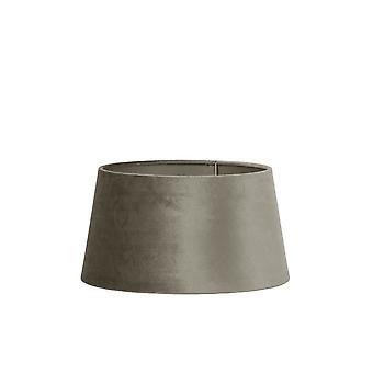 Svetlo & obývacia guľatý odtieň 30x25x16cm zinok hnedosivá
