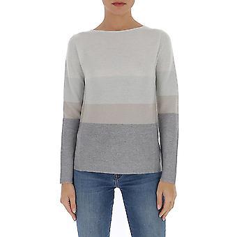 Fabiana Filippi Mad260w138a510vr2 Women's Grey Wool Sweater