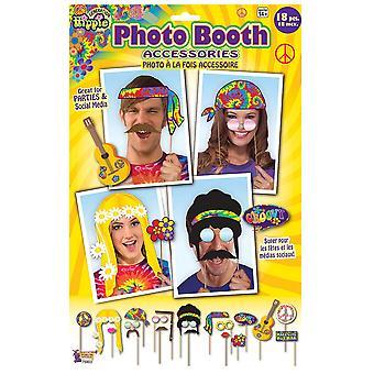 Bristol Novelty Hippie 18 Piece Stick Prop Set
