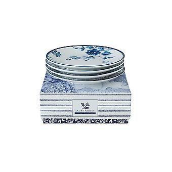 Laura Ashley Blueprint Collectables Set of 4 Plates