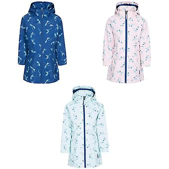 Trespass Childrens Girls Frejja Rain Jacket