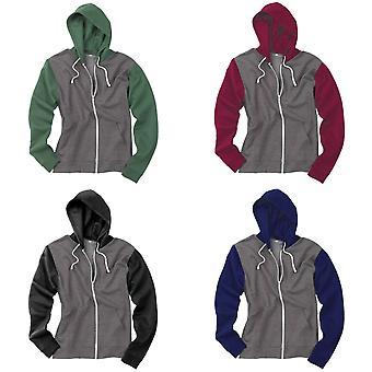 Awdis Mens Retro Zoodie / Hooded Sweatshirt / Hoodie