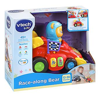 Vtech Baby Race-Along Bear Baby Toy Car Per età 12-36 Mesi