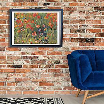 Robert William Vonnoh - Poppies Poster Print Giclee