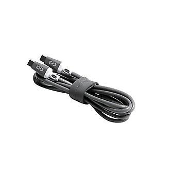STM USB C til USB C 1M gråt kabel
