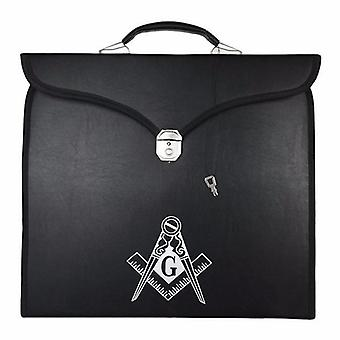 Masonic regalia provincial full dress apron square compass g cases [multiple colors]