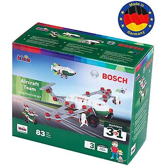 Theo Klein 3 in 1 aircraft team 83pc playset for ages 3+