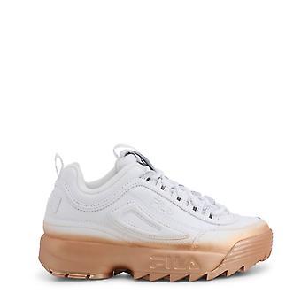 Damen Leder Sneakers Schuhe f45495