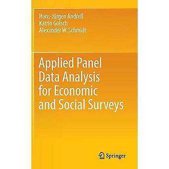 Applied Panel Data Analysis for Economic and Social Surveys by Hans-J