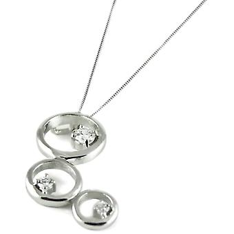 Sassi AP5327 - Chain with women's pendant - silver sterling 925 - 457 -2 mm