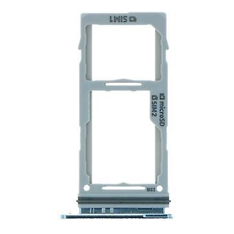 Albastru Dual SIM Carte taviță Pentru Samsung Galaxy S10/S10 Plus