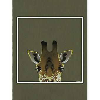 Inquisitive Creatures Giraffe Tote Bag