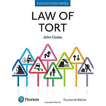 Law of Tort by John Cooke - 9781292251363 Book