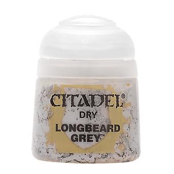 Longbeard Grey, Citadel Paint - Dry, Warhammer 40,000/Age of Sigmar