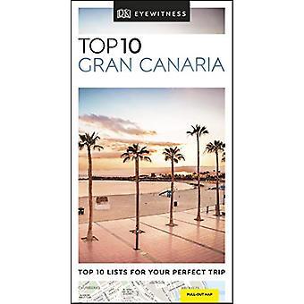 DK Eyewitness Top 10 Gran Canaria by DK Eyewitness - 9780241364673 Bo