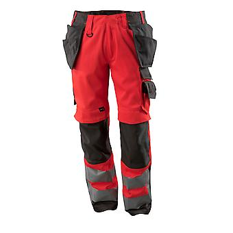 Mascot wigan hi-vis work trousers 15531-860 - safe supreme, mens -  (colours 2 of 3)