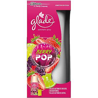 1 X Glade Automatic Spray Complete Unit + 269ml Refill - Berry Pop