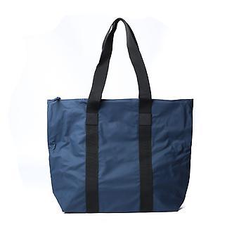 Rains Navy Rush Tote Bag