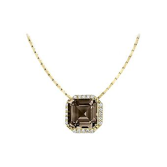 Jacques Lemans - Chain sterling plated with Smoky Quartz - SE-C104I