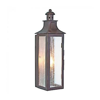 Stow Wall Lamp, Aged Bronze