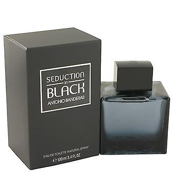 Seduction In Black Eau De Toilette Spray By Antonio Banderas 3.4 oz Eau De Toilette Spray