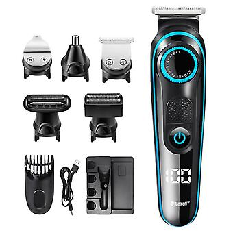 5 in 1 electric shaver razor hair clipper nose trimmer