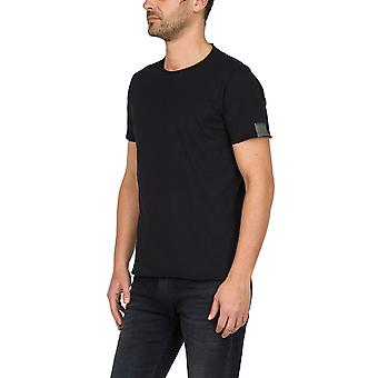 Replay Men's Raw Cut Puuvilla T-paita