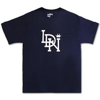 LDN Original T-Shirt Navy White