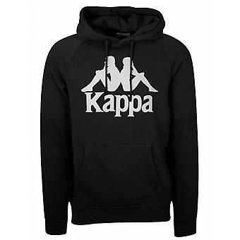Sweat-shirt à capuchon Tenax noir Kappa Black