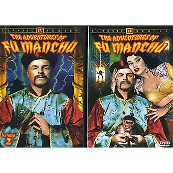 Adventures of Fu Manchu: Vol. 1-2 [DVD] USA import