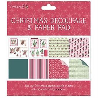 Dovecraft Kerstmis FSC Decoupage en Paper Pad Scènes