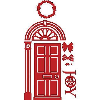 First Edition Christmas Dies - Front Door
